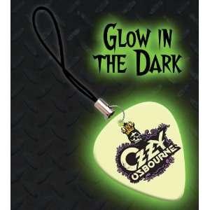 Ozzy Osbourne Premium Glow Guitar Pick Mobile Phone Charm