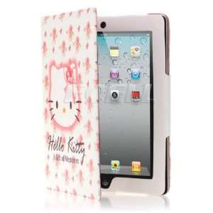 HELLO KITTY LEATHER CASE & STAND FOR APPLE iPAD 2 Computers