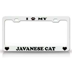 I PAW MY JAVANESE Cat Pet Animal High Quality STEEL /METAL