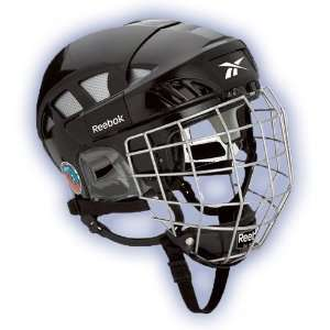 Reebok 6K Hockey Helmet w/Cage   2009 Sports & Outdoors