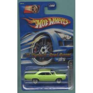 Plymouth Road Runner Die Cast Car #088  Toys & Games