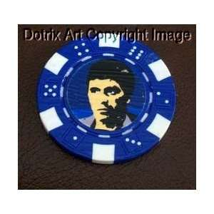 Scarface Las Vegas Casino Poker Chip limited edition