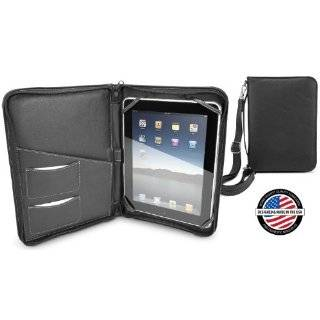iFolio   Premium Black Leather Case Holder / Folio for iPad / iPad 2