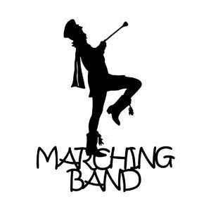 Die Cuts Marching Band SDC 1516; 6 Items/Order: Arts, Crafts & Sewing