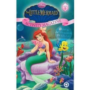 The Little Mermaid Activity Magazine Disney Books