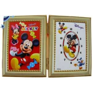 Disney Mickey Mouse Picture Fram & Clock Set Electronics