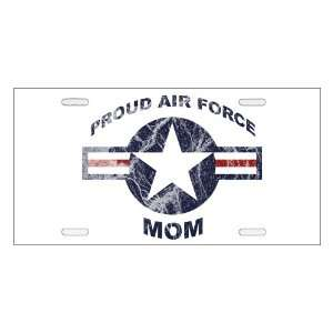 Proud Air Force Mom   Military Supporter License Plate