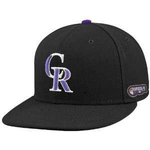 New Era Colorado Rockies Black 2007 MLB National League Champions