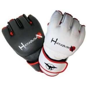 Hayabusa Pro MMA Gloves   Black: Sports & Outdoors