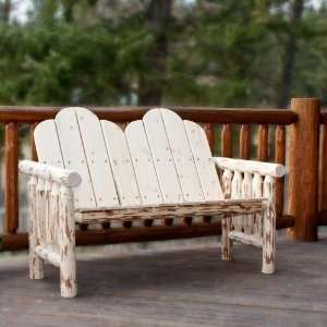 Montana Woodworks Deck Bench   Exterior Finish Patio