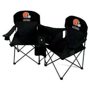 Cleveland Browns NFL Deluxe Folding Conversation Arm Chair