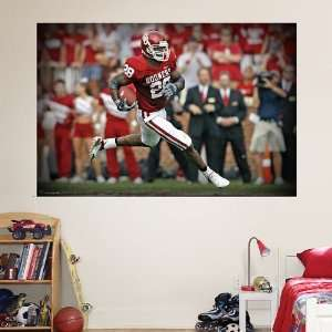 NFL Adrian Peterson Oklahoma Mural Vinyl Wall Graphic Decal Sticker