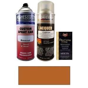 12.5 Oz. Sonic Orange Metallic Spray Can Paint Kit for 2009 Hummer H3