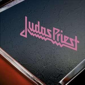 Judas Priest Pink Decal Metal Rock Band Window Pink