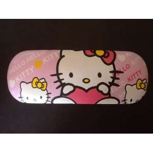 Pink Hello Kitty Eyeglasses Case .