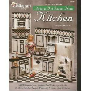 The Needlecraft Shop Plastic Canvas Fashion Doll Dream House Kitchen