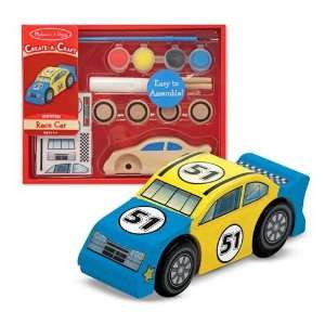 Melissa and Doug Create a Craft Party Favors  Race Car Toys & Games