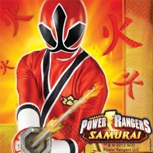 Power Rangers Samurai Lunch Napkins Party Accessory  Toys & Games