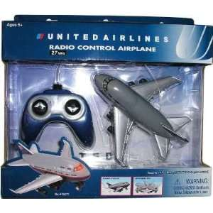 United Airlines Radio Control Plane Toys & Games