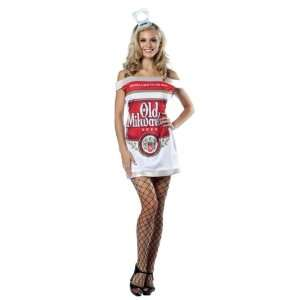 Lets Party By Rasta Imposta Old Milwaukee Beer Can Dress Adult Costume