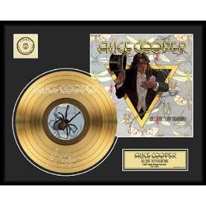 COOPER WELCOME TO MY NIGHTMARE FRAMED GOLD RECORD