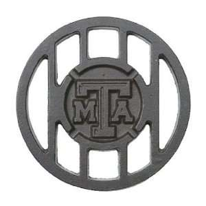 TAMU Aggies Round Meat Brand Grill Topper: Patio, Lawn & Garden
