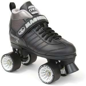 Roller Derby Magnum Quad Speed Skates   Black  Sports