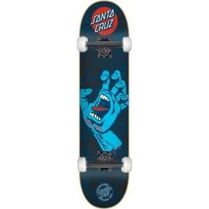 Santa Cruz Screaming Hand Complete Skateboard   7.6 w