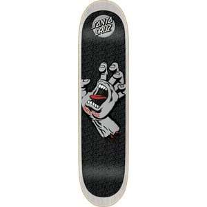 Santa Cruz Screaming Hand Skateboard Deck   8.0x31