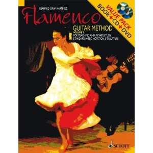 Flamenco Guitar Method Volume 1 Book/CD/DVD Pack (Schott