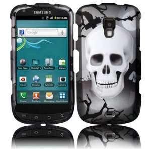 White Cross Skull Design Hard Case Cover for Samsung