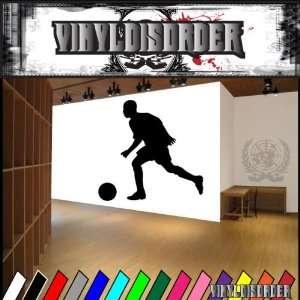 Futbol Soccer Player Goal Ball Sport Sports Vinyl Decal