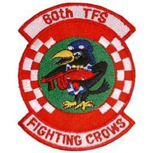 U.S. Air Force 60th TFS Fighting Crows Patch 3 Patio