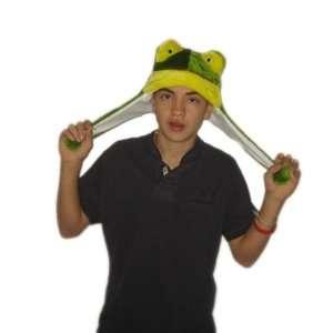 Plush Frog Brand New Animal Hat High Quality Polyester