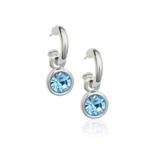 Crystal Rhodium Plated Earrings Used Swarovski Crystals Kitchen