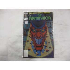 The Terminator 1989 series # 11 comic book Toys & Games