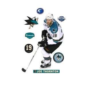 NHL San Jose Sharks Joe Thornton Wall Graphic Sports