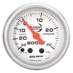 Auto Meter 4103 Lunar Mechanical Boost / Vacuum Gauge Automotive