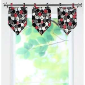 Cobblestone Collection Valances   tab top valance