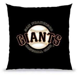 Biederlack San Francisco Giants Souvenir Pillow  Sports