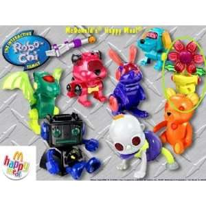 Happy Meal Robo Chi Petal Chi Wind Up Toy #3 2002 Everything Else