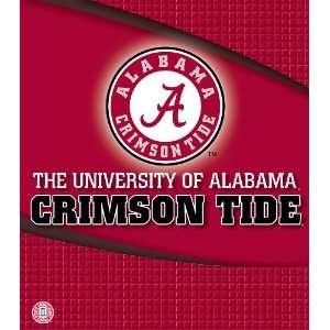Alabama Crimson Tide 3 Ring Binder, 1 Inch (8180072)