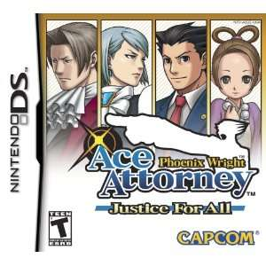 Phoenix Wright Ace Attorney   Justice for All: Video Games