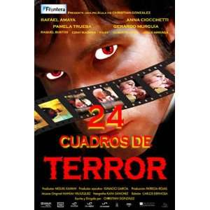 24 cuadros de terror   Movie Poster   11 x 17: Home
