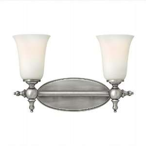 Yorktown 15.5 Antique Nickel Bathroom Light Home