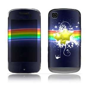 Rainbow Stars Design Protective Skin Decal Sticker for LG Shine