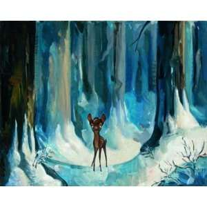 Alone in the Woods   Disney Fine Art Giclee by Jim Salvati