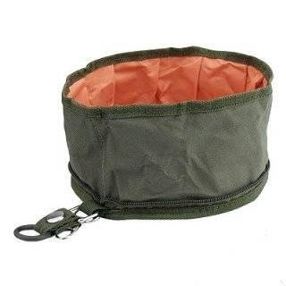 Portable Travel Happy Dog Cat Pet Food Water (2) Bowls