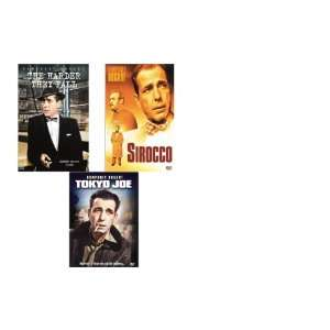 Humphrey Bogart (3 pack) Tokyo Joe/Sirocco/The Harder They