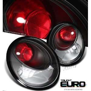Volkswagen VW Beetle 98 05 Black Euro Altezza Tail Light
